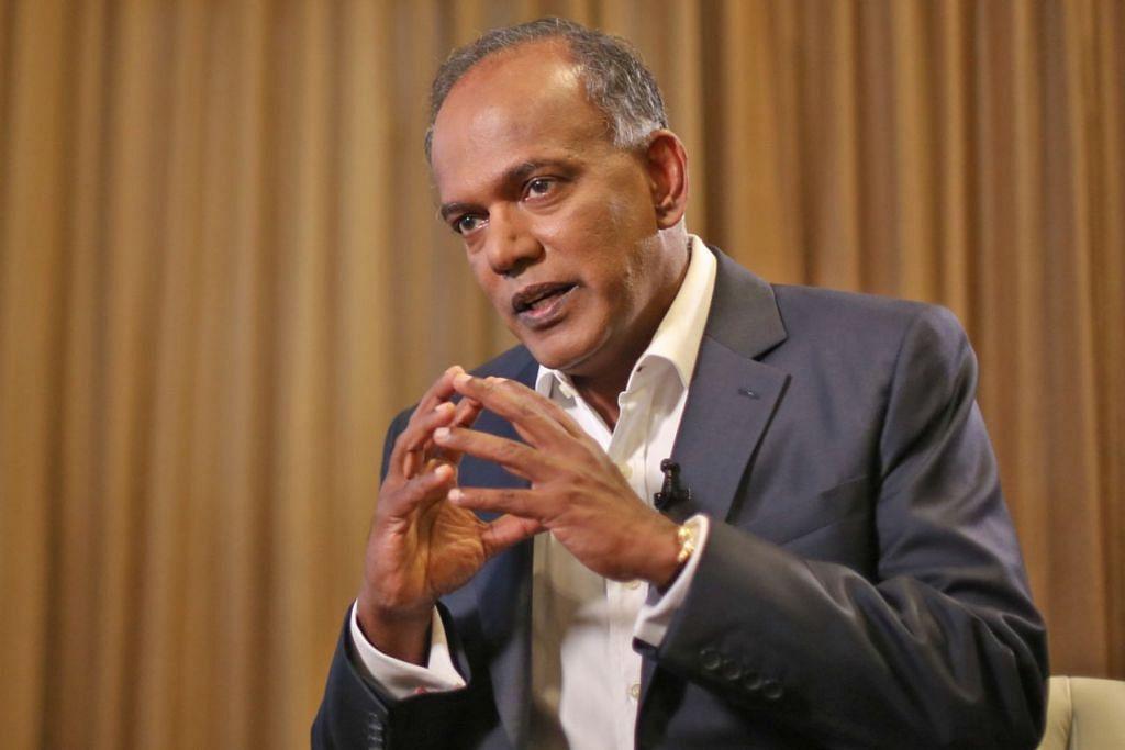 Menteri Ehwal Dalam Negeri, Encik K. Shanmugam