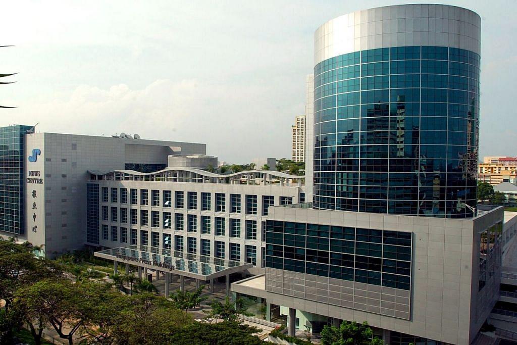 BANGUNAN SEKARANG: Bangunan News Centre di 1000 Toa Payoh North.