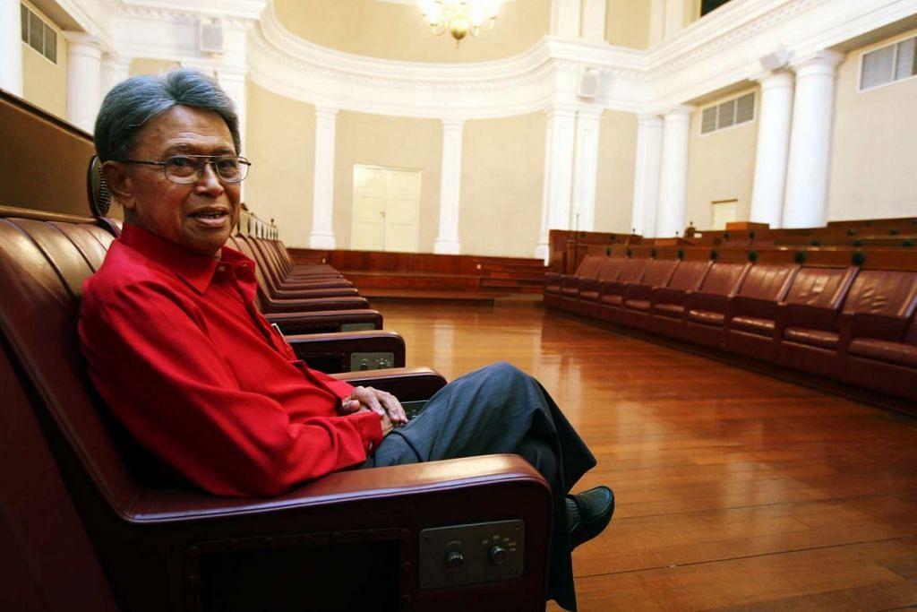 KEMBALI KE RAHMATULLAH: Mantan menteri Haji Othman Wok meninggal dunia hari ini. - Foto BERITA HARIAN