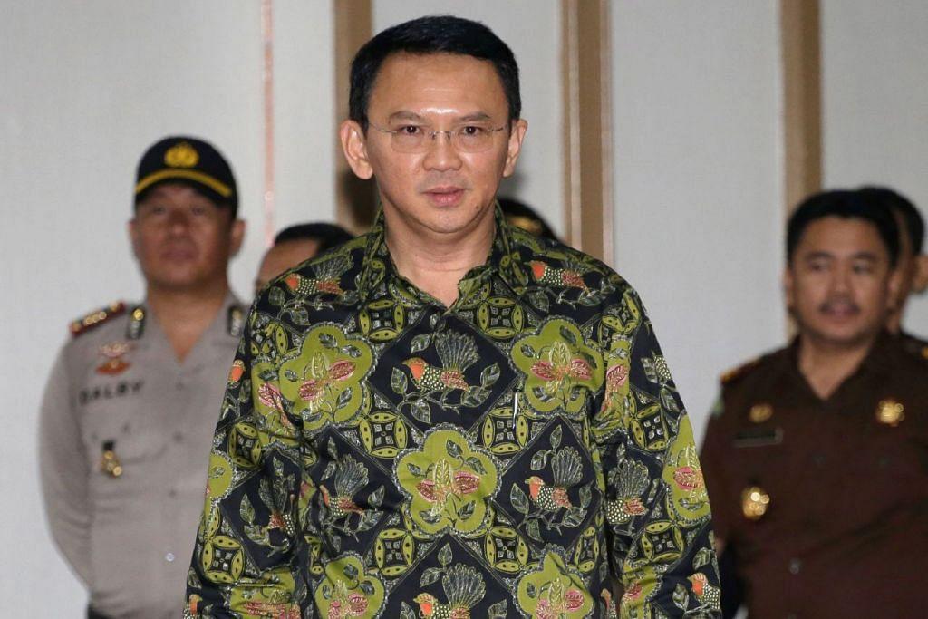 TUDUHAN MENGHINA ISLAM: GabenorJakarta, Basuki Tjahaja Purnama - AFP