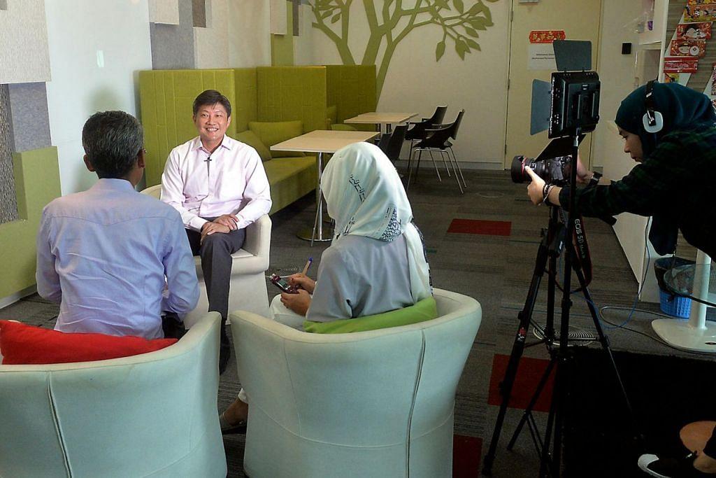 Saksikan video wawancara Berita Minggu bersama Menteri Pendidikan (Sekolah) Ng Chee Meng di laman media sosial BeritaHarian.sg