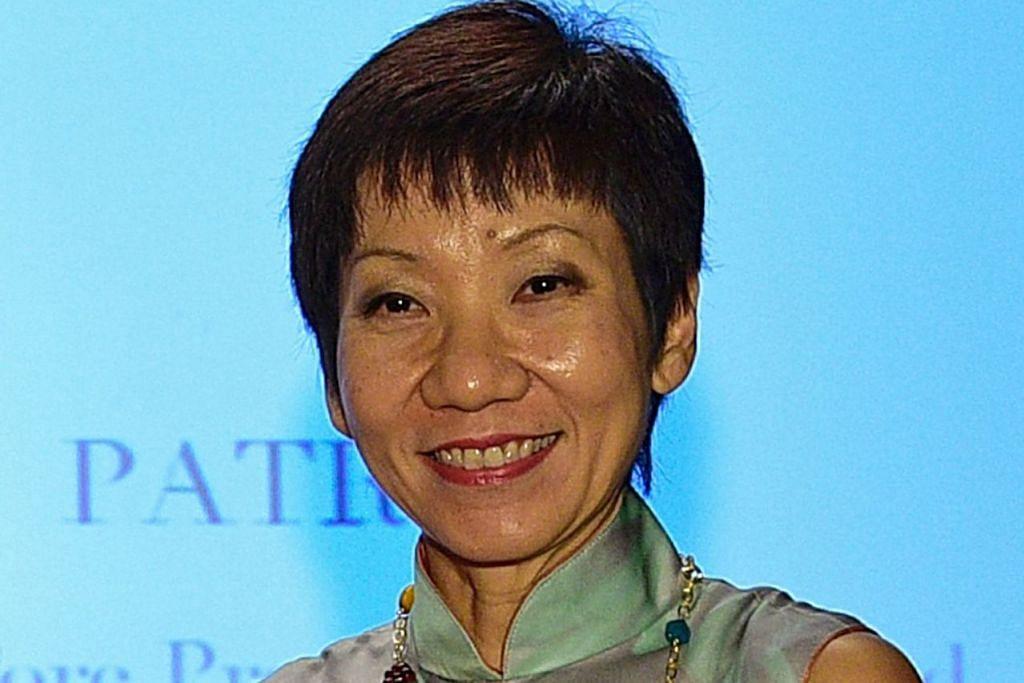 Menteri Kebudayaan, Masyarakat dan Belia, Cik Grace Fu.