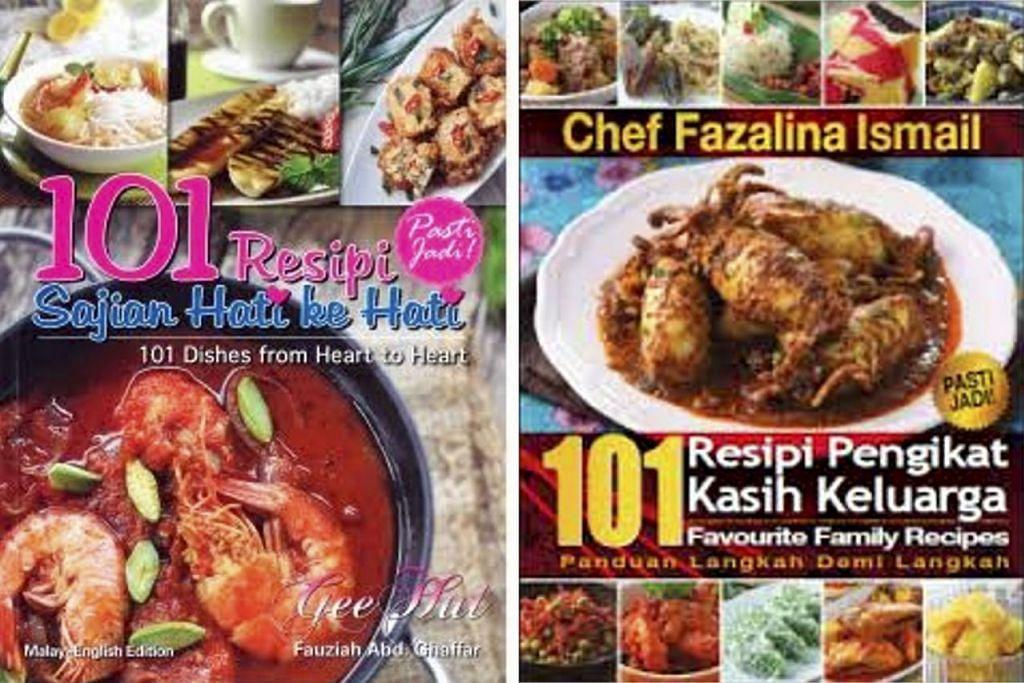 Beberapa lagi jenis buku resipi hidangan Pulau Pinang seperti dua buku ini (kedua-duanya di atas) turut disediakan di Popular.