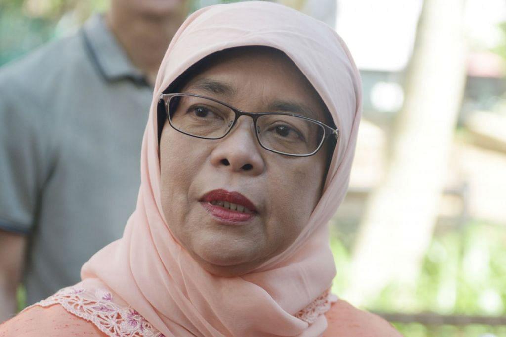 Cik Halimah Yacob, Speaker Parlimen yang juga Anggota Parlimen (AP) GRC Marsiling-Yew Tee.