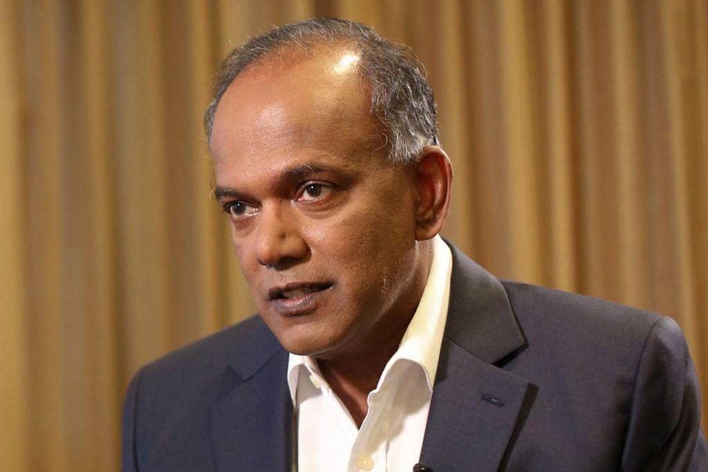 Encik K. Shanmugam, Menteri Ehwal Dalam Negeri