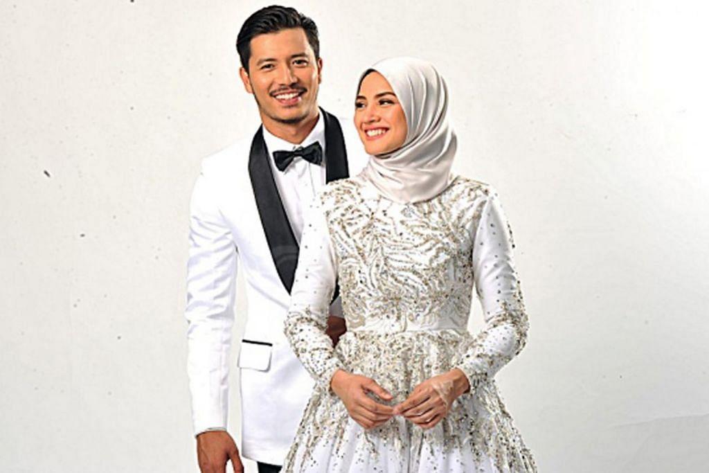 FATTAH & FAZURA: Sudah bertunang dan akan bernikah tidak lama lagi. - Foto UTUSAN MALAYSIA