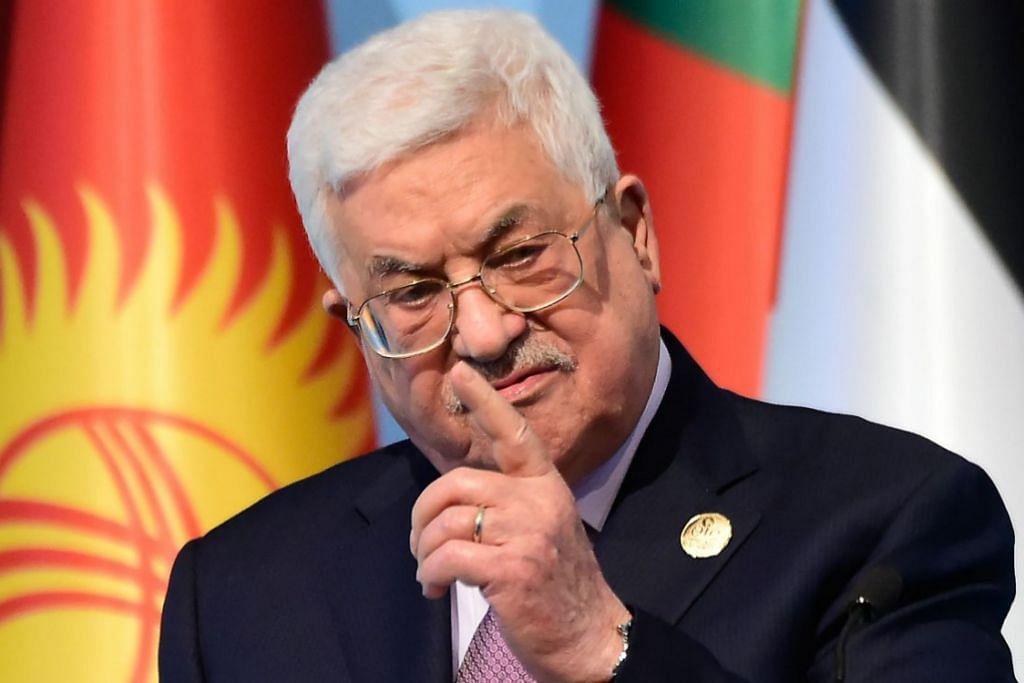 ENCIK MAHMOUD ABBAS: Berperanan penting dalam menjalin hubungan dengan kumpulan perdamaian Israel.