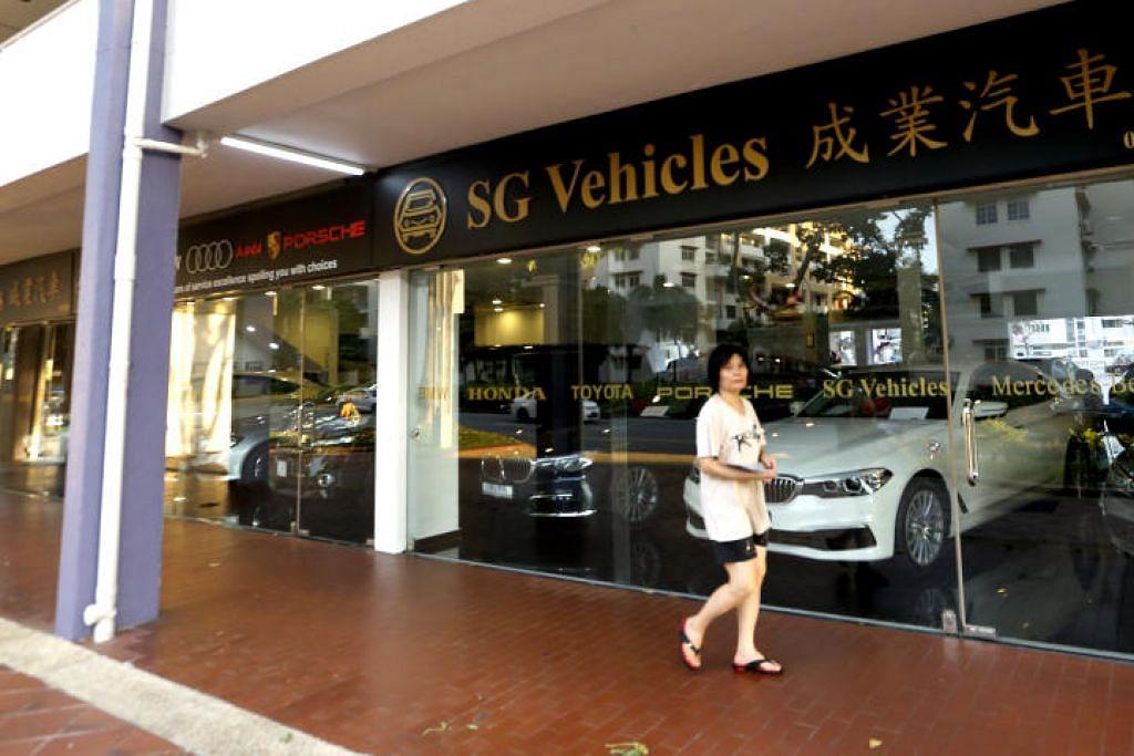 Sebanyak 39 aduan mengenai SG Vehicles diterima tahun lalu, satu peningkatan berbanding 36 pada 2015. - Foto ST