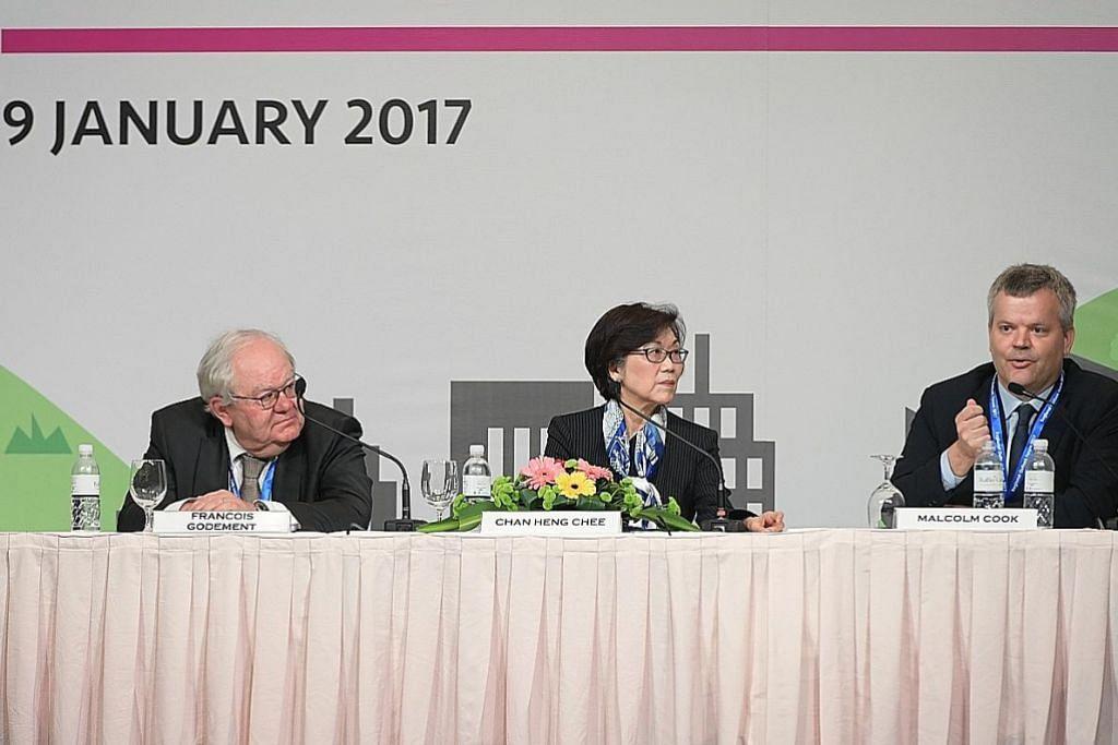 FORUM PROSPEK SERANTAU 2017 Asean perlu pelbagai pergantungan ekonomi untuk rangsang pertumbuhan