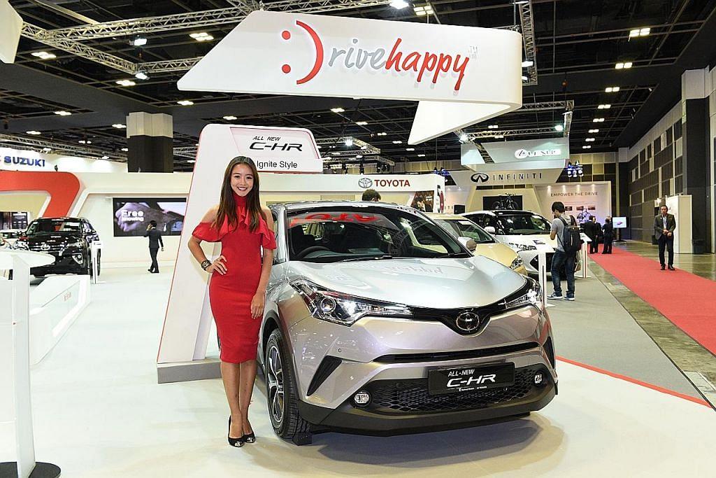 16 model kereta baru dilancar di S'pore Motorshow