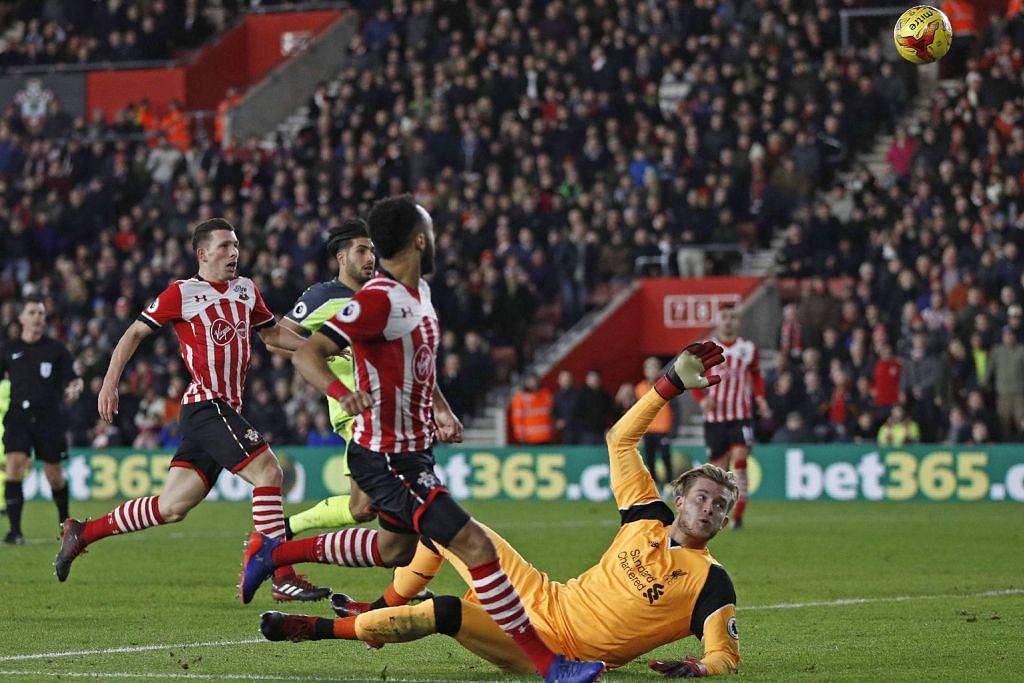 Southampton tundukkan Liverpool