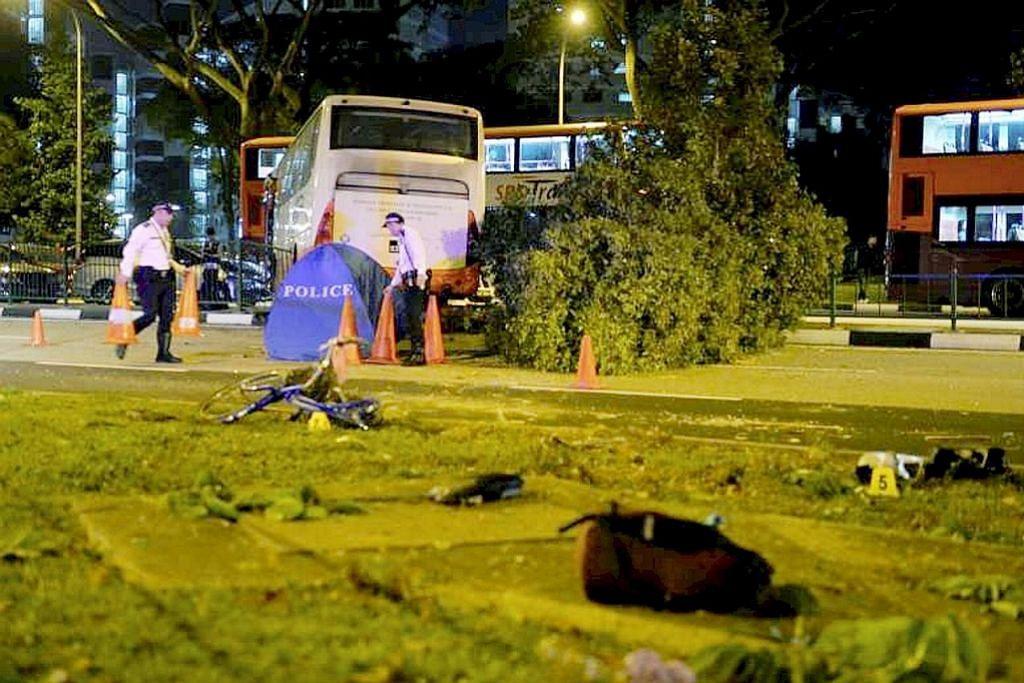 Nahas di Pioneer Rd: Pemandu bas ditangkap