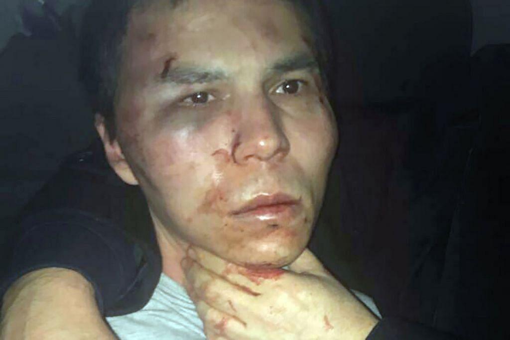 Suspek serangan kelab malam Turkey ditahan