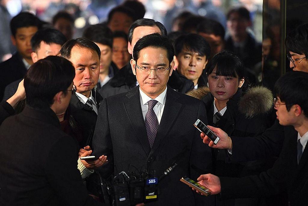 Perbicaraan tentukan untuk berkas pemimpin Samsung