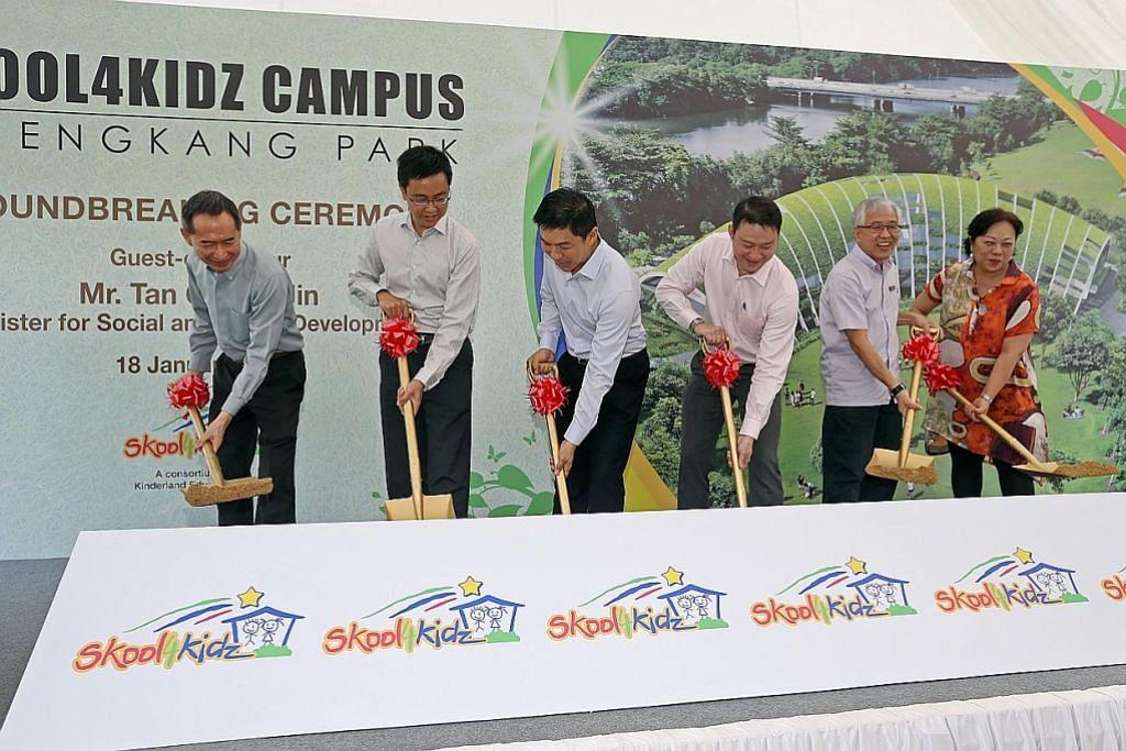 Prasekolah pertama di dalam taman mula beroperasi pertengahan tahun depan