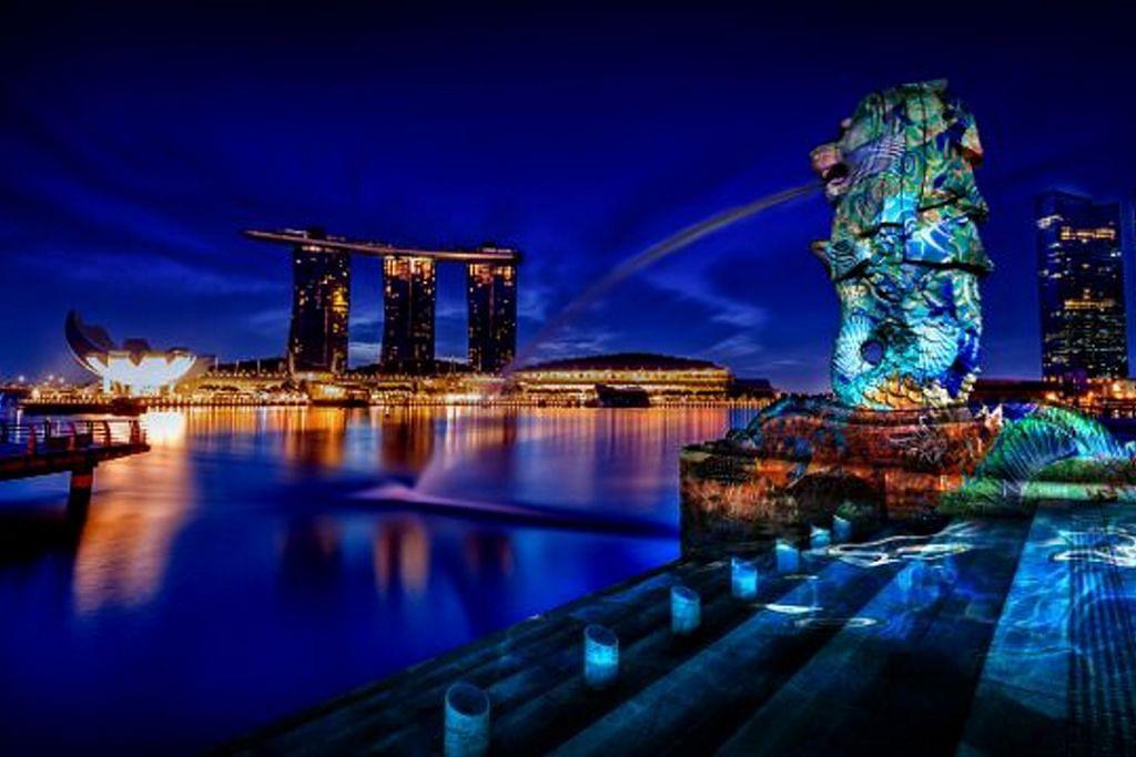 Pesta cahaya kembali sinari Marina Bay Mac ini