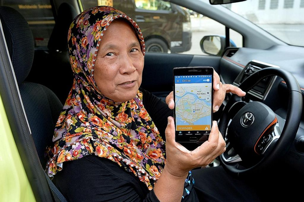 'Nenek Uber'