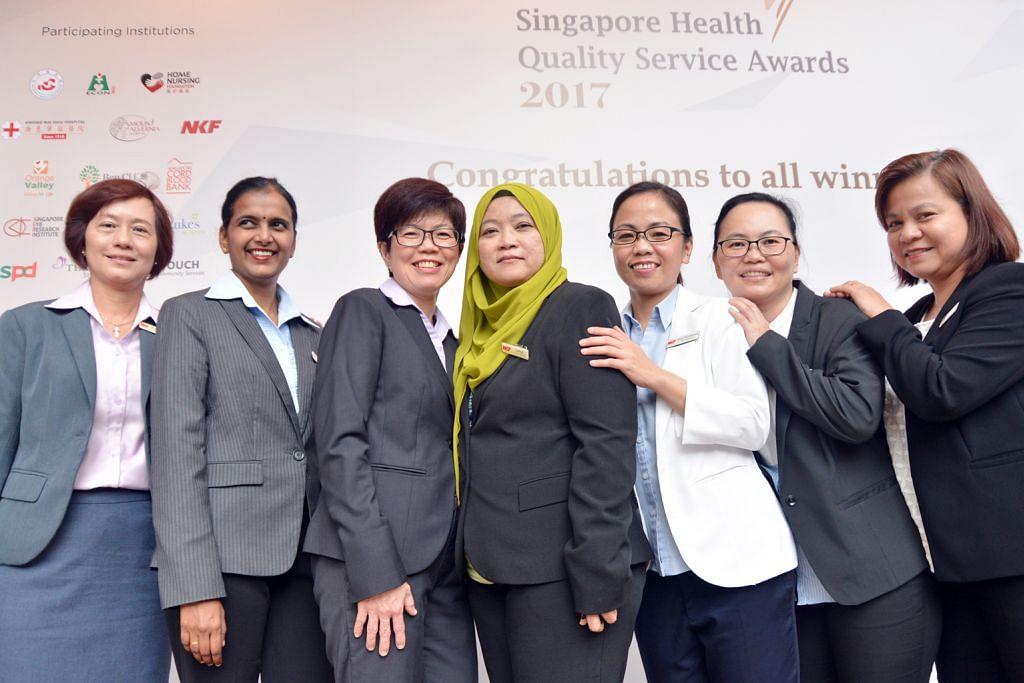 Anugerah tertinggi bagi jururawat NKF