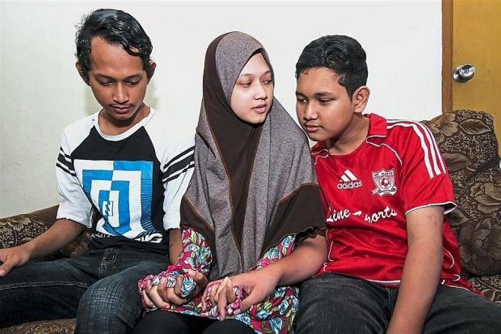 Tiga beradik yatim piatu selepas ibu bapa meninggal ekoran denggi