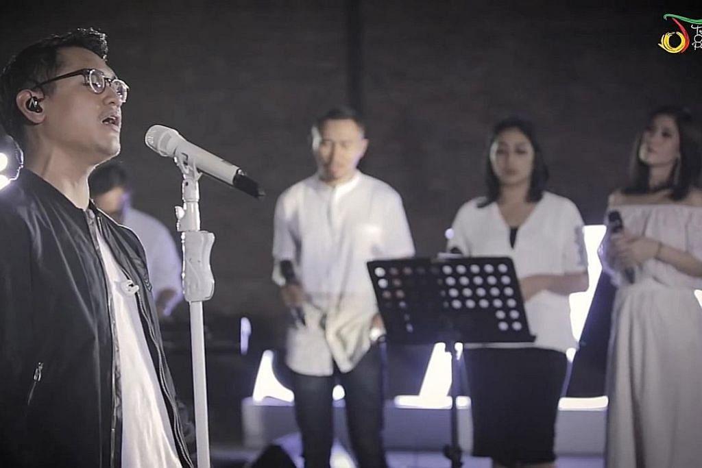 Terbawa perasaan sajian langsung lagu cinta Afgan
