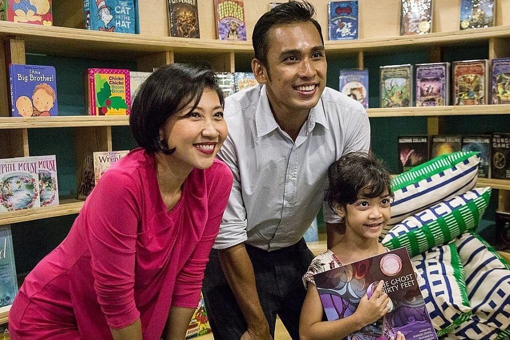 Sharon kongsi kisah 'hantu' dan nilai keluarga dalam buku kanak-kanak