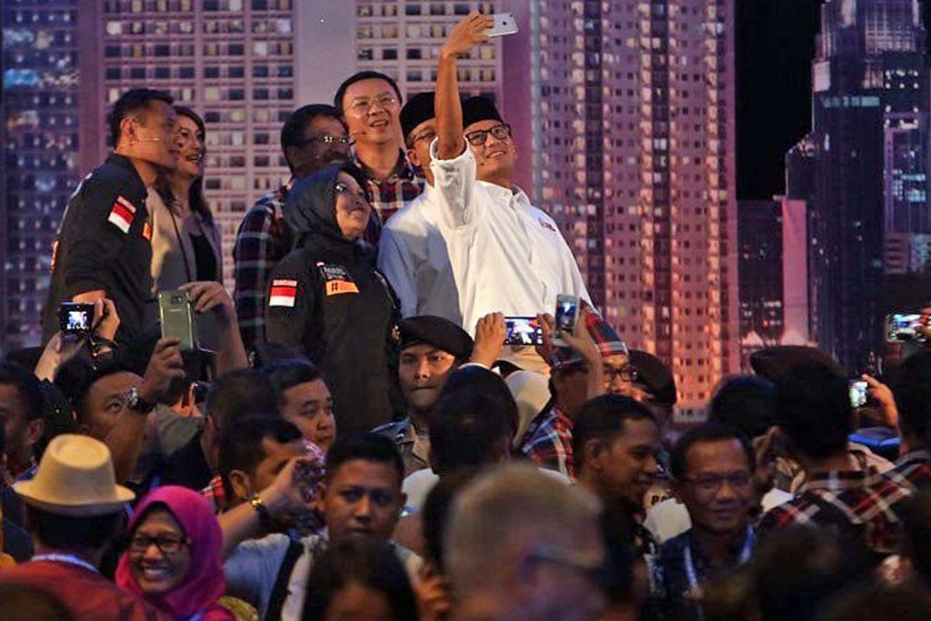 PILIHAN RAYA GABENOR JAKARTA Ahok dahului pesaing lain selepas debat