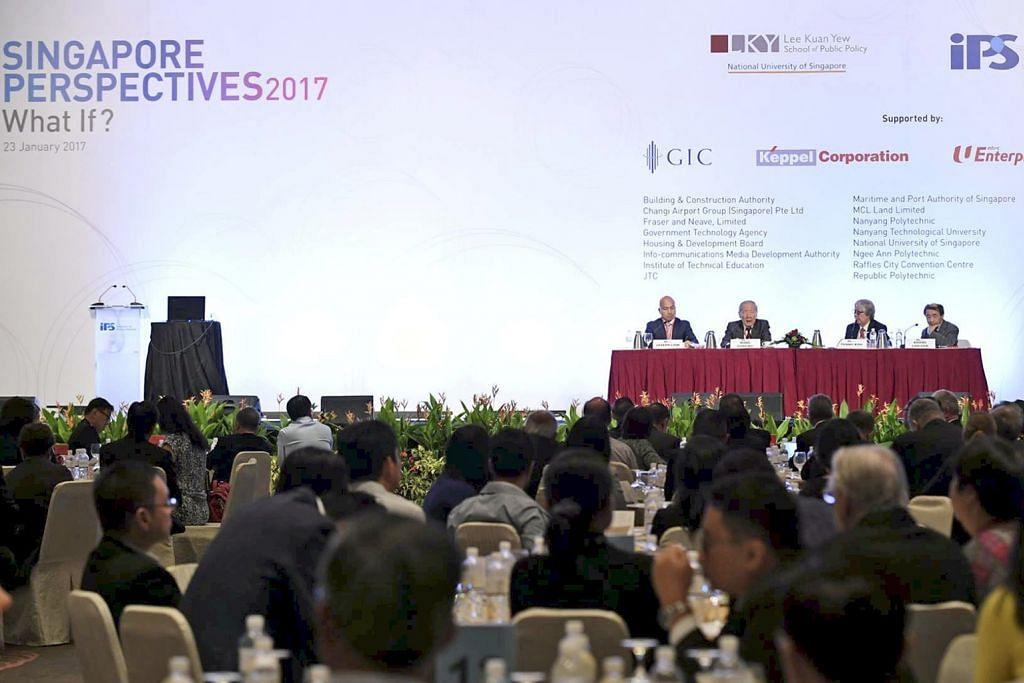PERSIDANGAN PERSPEKTIF SINGAPURA 2017 'Pemerintah S'pura yang luar biasa perlukan warga luar biasa'