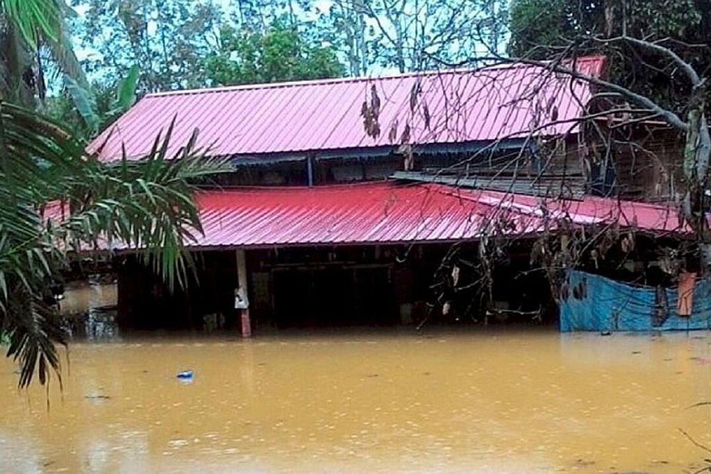 1,396 mangsa banjir di Johor dipindah