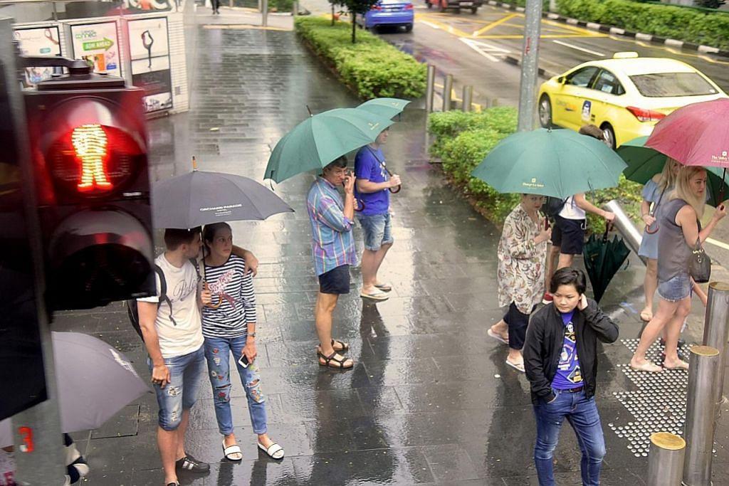 Hujan berterusan, namun dijangka reda