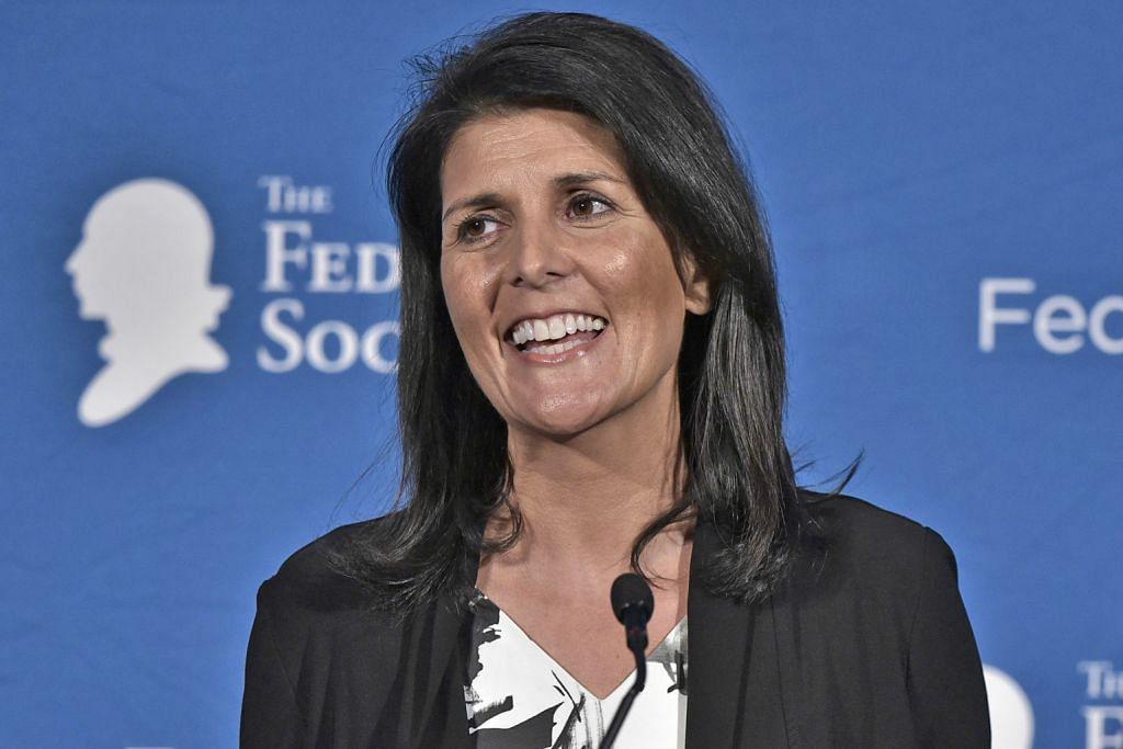 Nikki Haley dilantik duta AS ke PBB