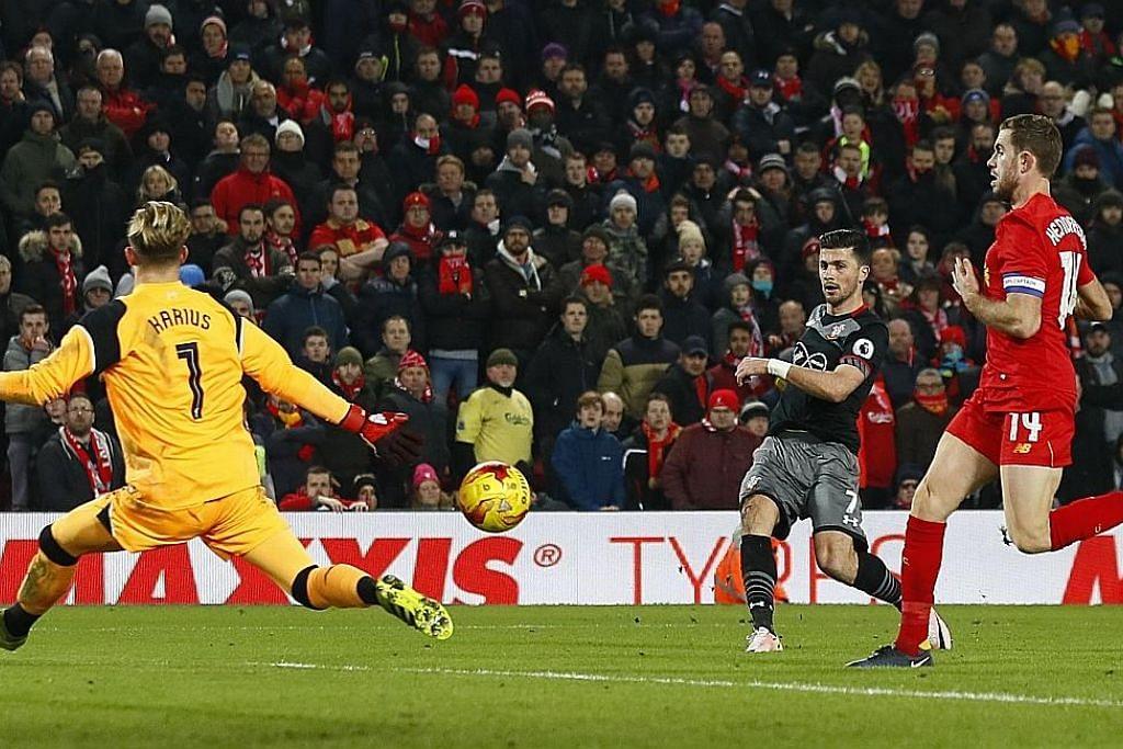 Southampton tewaskan Liverpool, mara ke final PIALA LIGA ENGLAND