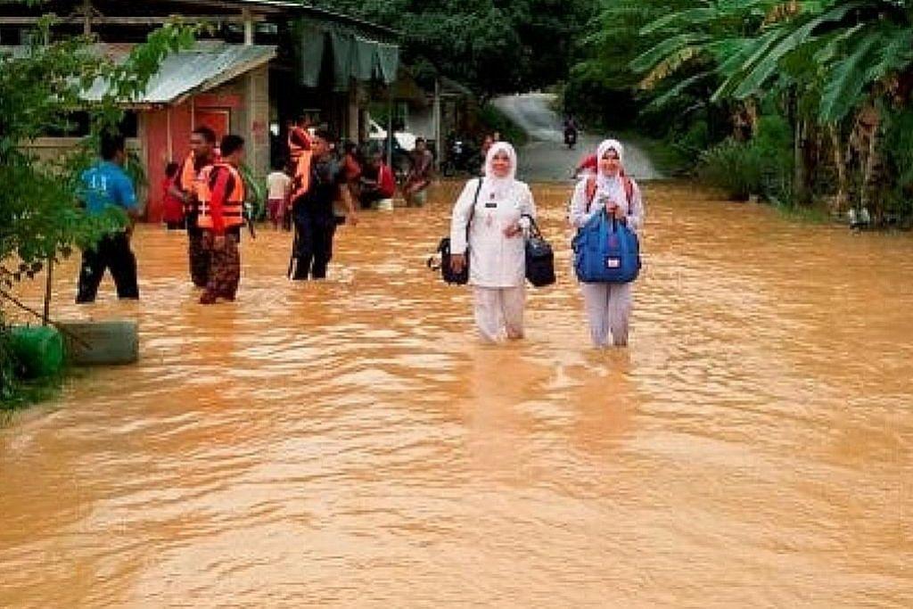 6,000 askar dikerah bantu mangsa banjir di Malaysia