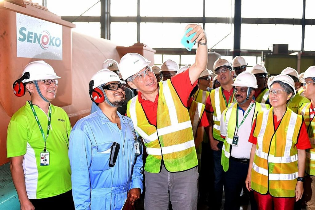 PM Lee harapkan ekonomi 2017 terus lebih baik
