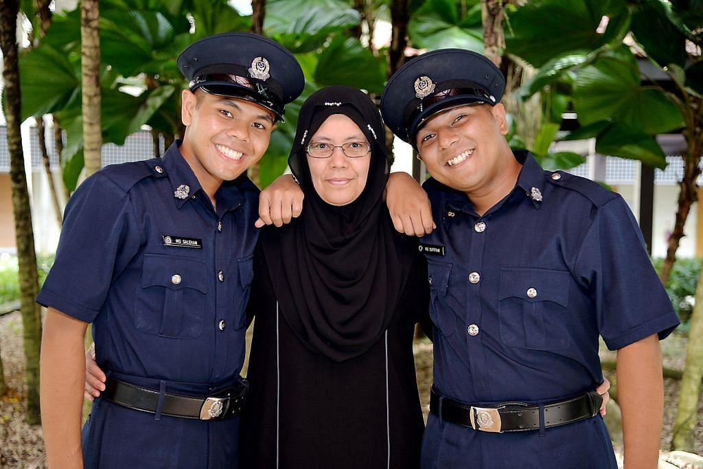 Terubat rindu pada keluarga apabila tiga pasang adik-beradik jalani NS bersama