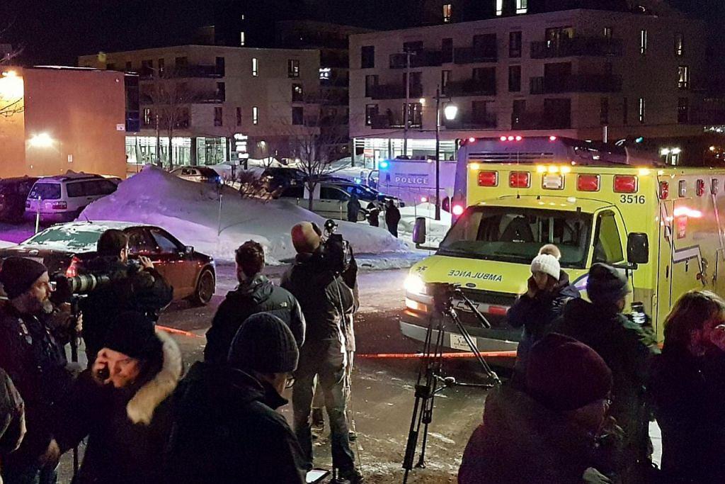 Enam maut ekoran kejadian tembak di masjid di Canada