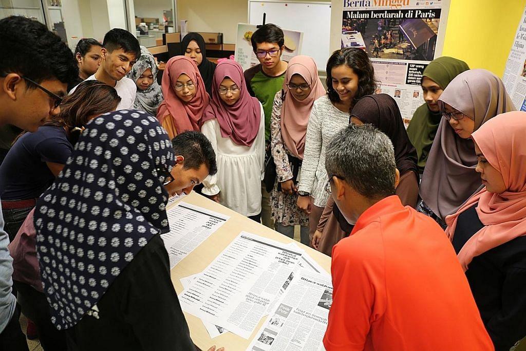 BH buka pintu kewartawanan bagi pelajar posmenengah