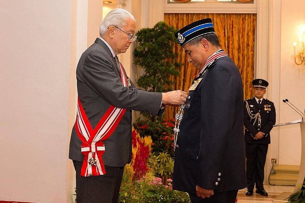Ketua polis M'sia terima pengiktirafan tertinggi S'pura