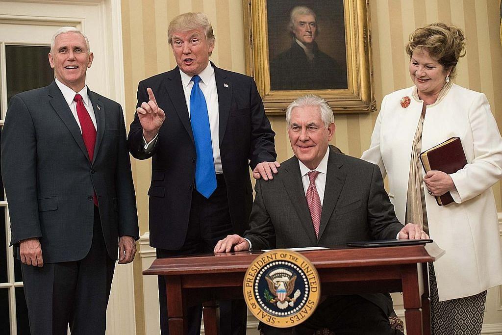Tillerson sah jadi Setiausaha Negara Amerika yang baru