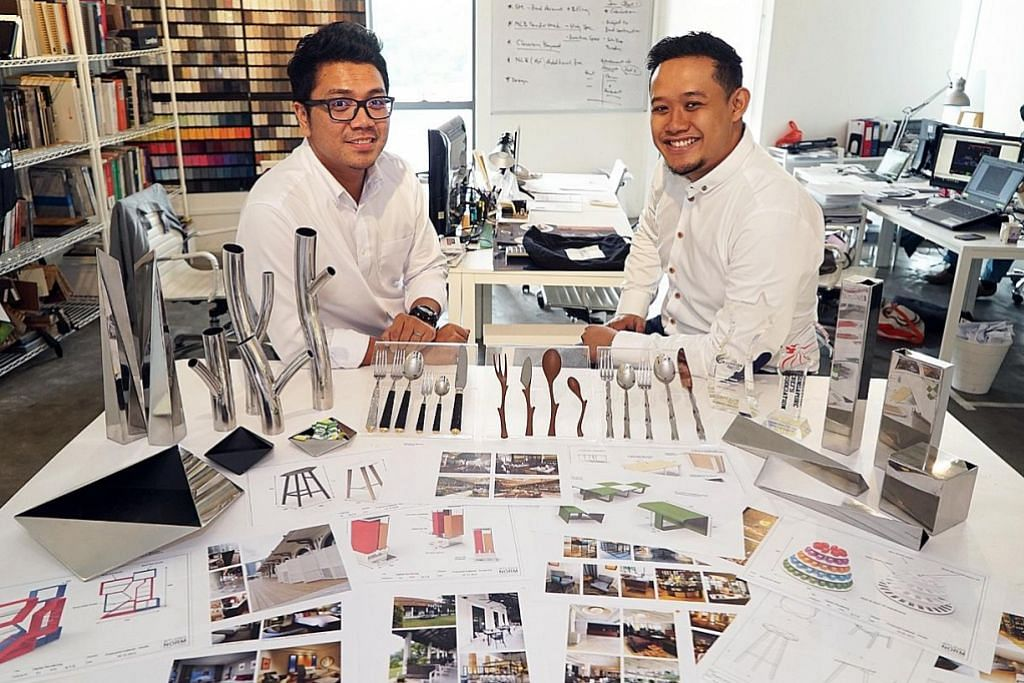 Bina tukikan reka perabot dan peralatan hotel, restoran