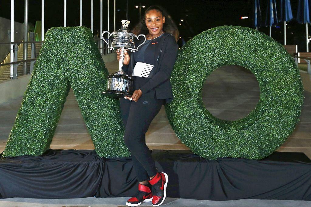 Pencapaian Serena hampir setara dengan Court