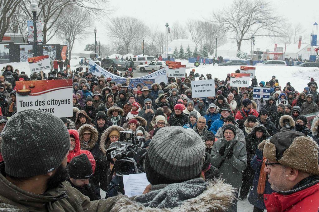 Ratusan berarak di Quebec bagi peringati mangsa