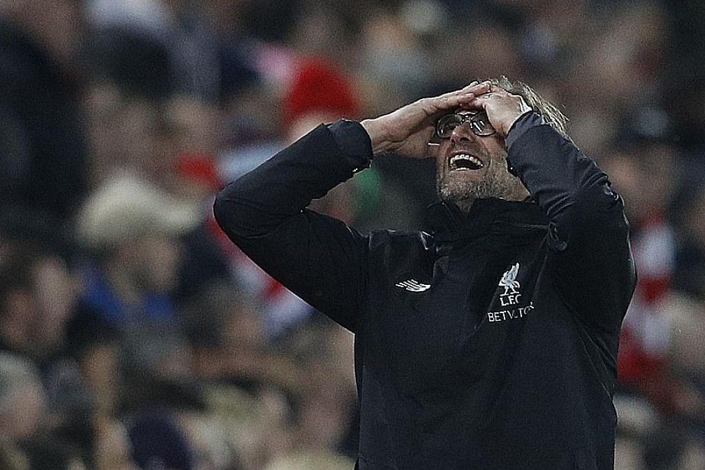 Klopp terdesak hentikan 'kejatuhan' Liverpool BOLA SEPAK ENGLAND