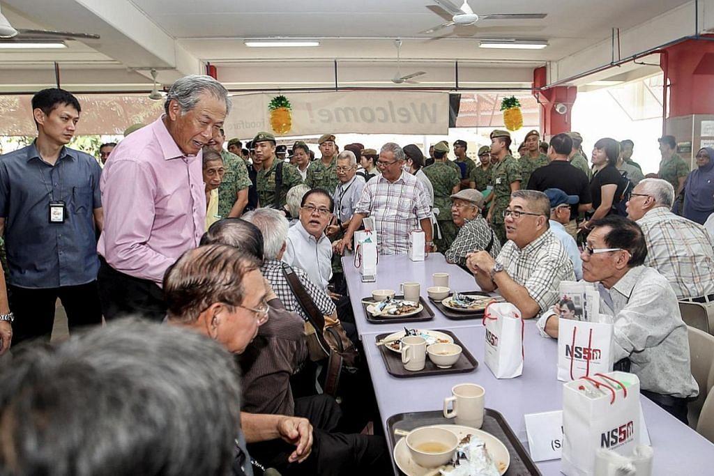 SAMBUTAN 50 TAHUN PERKHIDMATAN NEGARA (NS50) Eng Hen: Singapura yang berjaya terus perlukan sokongan NS kukuh