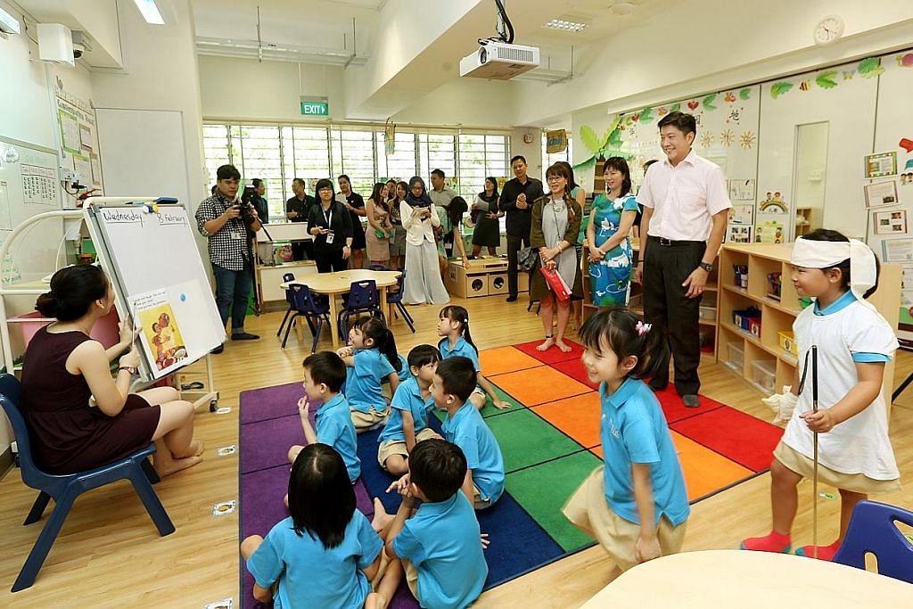 MOE akan buka tiga lagi tadika di Punggol