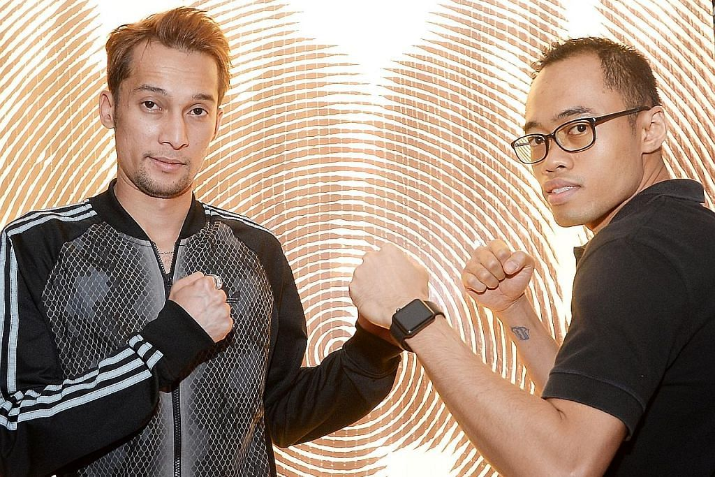 Hamzah ghairah orak langkah pertama tinju profesional TINJU 'WBC ASIA BATTLE OF CHAMPIONS'