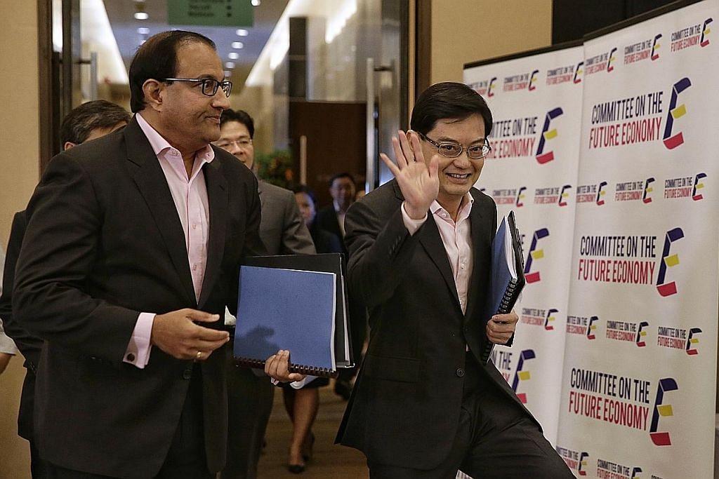 Tujuh strategi bangun masa depan ekonomi SG