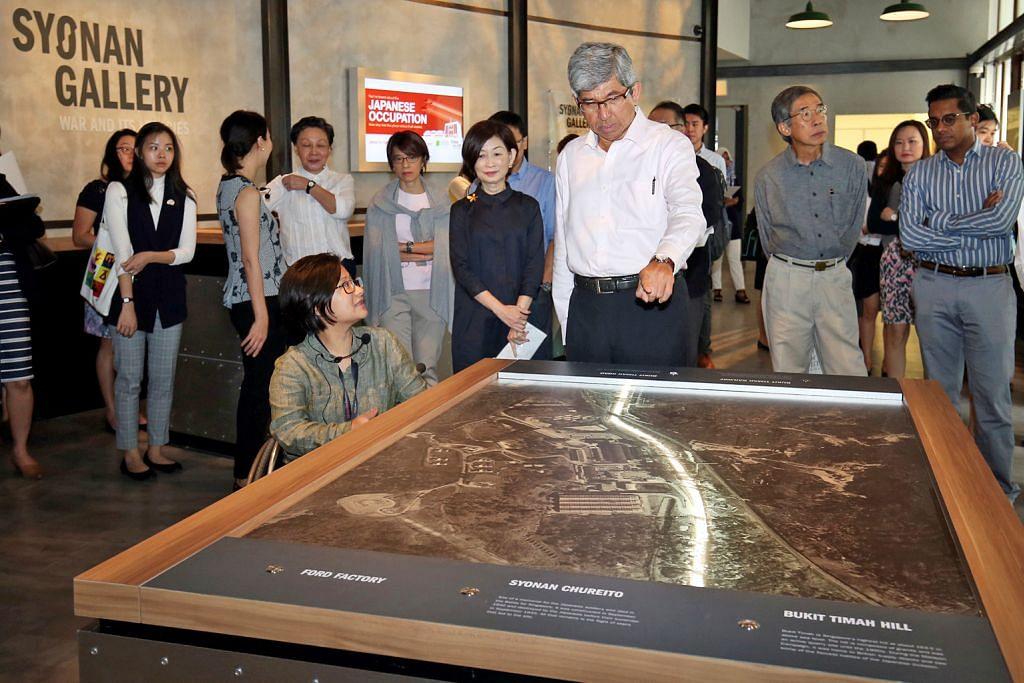 Galeri Syonan dibuka papar kisah S'pura zaman perang