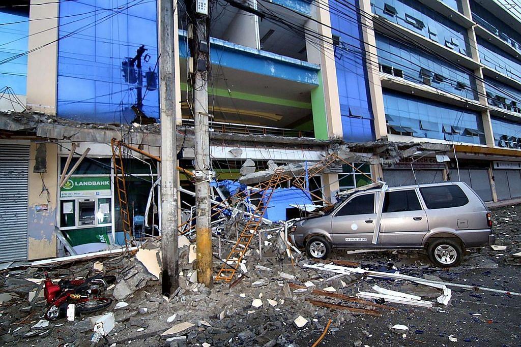 Gempa bumi di selatan Filipina ragut enam jiwa