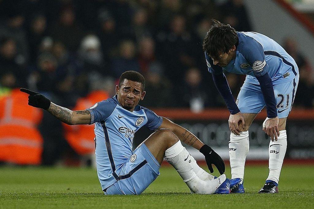 LIGA PERDANA ENGLAND Guardiola harap kecederaan Gabriel tidak serius