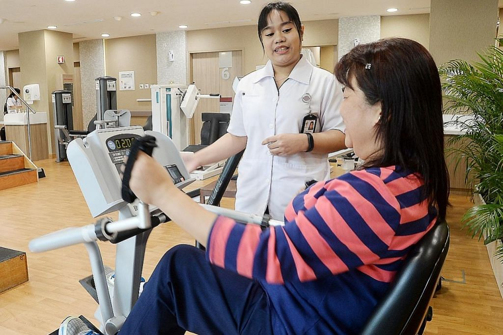 Dulu bantu pakar fisio, kini kendali sendiri sesi terapi pesakit